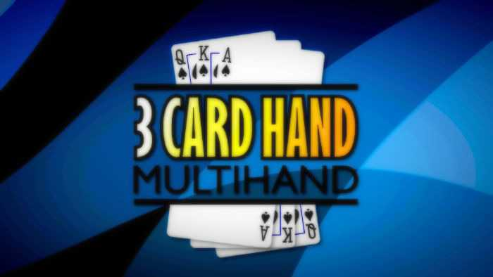 3 card poker and how to play it